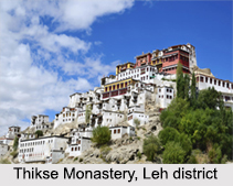 Monasteries in Leh, Jammu and Kashmir