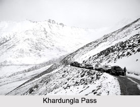Mountain Passes in Ladakh