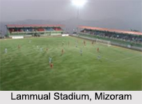 Football Stadiums in North- East India