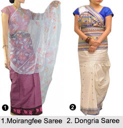 Sarees of North East India