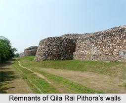 Qila Rai Pithora, Delhi