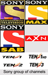 Sony Network of Channels, Indian Television