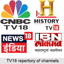 TV18 Group of Channels, Indian Television