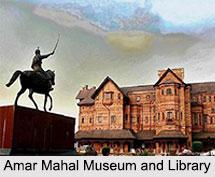 Amar Mahal Museum and Library, Jammu, Jammu and Kashmir