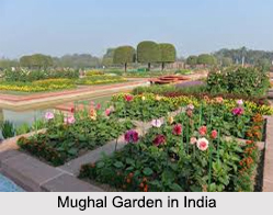 Architecture of Mughal Gardens in India