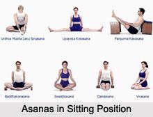 Asanas in Sitting Position, Yoga Asanas