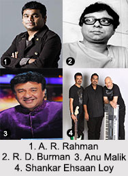 Bollywood Music Directors, Indian Cinema