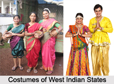 Costumes of West Indian States, Indian Costume