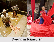Dyeing in Rajasthan
