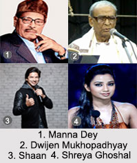 Playback Singers of East India