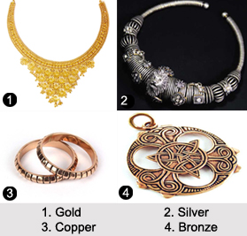 Metal Type Jewellery