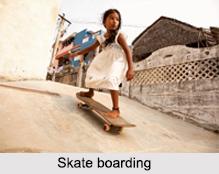 Skate Boarding, Adventure Sport in India