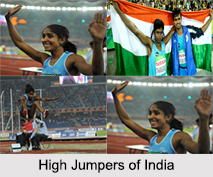 High Jump, Indian Athletics