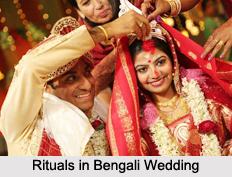 Rituals in Bengali Wedding, Wedding In Indian States