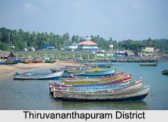 Districts of Coastal Kerala