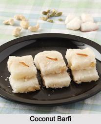 Coconut Barfi, Indian Sweet