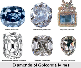 Diamonds of Golconda Mines