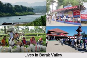 Districts of Barak Valley, Assam