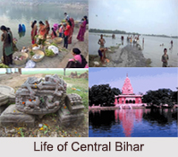 Districts of Central Bihar