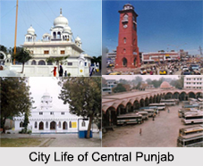 Districts of Central Punjab