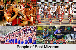Districts of East Mizoram