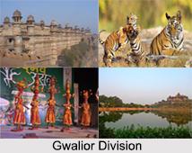 Districts of Gwalior Division, Madhya Pradesh