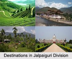 Districts of Jalpaiguri Division, West Bengal