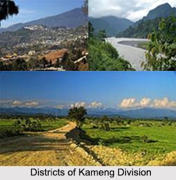 Districts of Kameng Division, Arunachal Pradesh