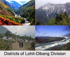 Districts of Lohit-Dibang Division, Arunachal Pradesh