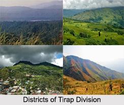 Districts of Tirap Division, Arunachal Pradesh