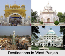 Districts of West Punjab