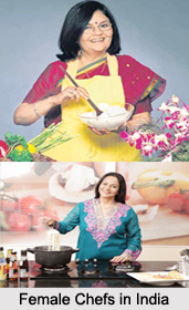 Female Chefs in India, Indian Chefs