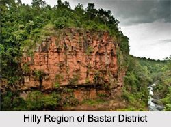 Geography of Bastar District