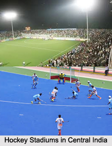 Hockey Stadiums in Central India