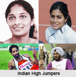Indian High Jumpers, Indian Athletes