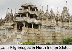 Jain Pilgrimages in North Indian States