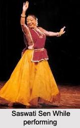 Saswati Sen, Indian Dancer