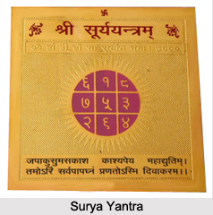 Surya Yantra, Astrology