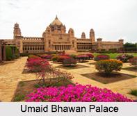 Umaid Bhawan Palace, Jodhpur, Rajasthan, Indian Regional Monuments