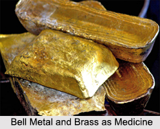 Use of Bell Metal and Brass as Medicines