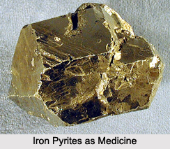 Use of Iron Pyrites as Medicines