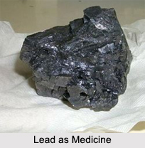 Use of Lead as Medicines