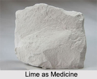 Use of Lime as Medicines