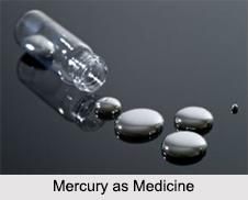 Use of Mercury as Medicines