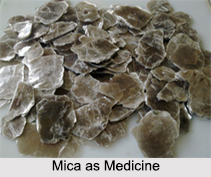 Use of Mica as Medicines
