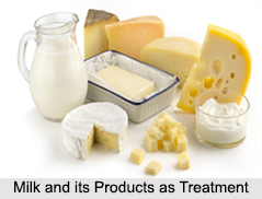 Use of Milk and its Products as Treatment