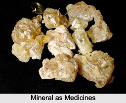 Use of Mineral as Medicines