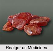 Use of Realgar as Medicines