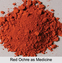 Use of Red Ochre as Medicines