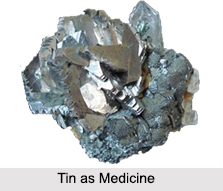 Use of Tin as Medicines